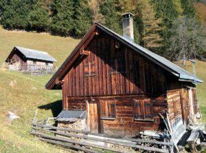 Hütte Vorderspina